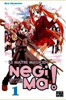 Akamatsu Ken Le maître magicien. Negi Ma. 1
