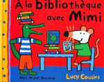 Cousin - A la bibliothèque avec Mimi.