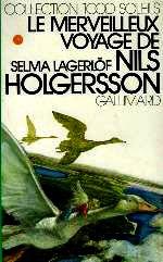 Lagerlf - Le merveilleux voyage de Nils Holgersson.