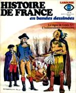 Ollivier Jean - Le règne de Louis XV, L`indépendance américaine. Larousse Histoire de France. I4